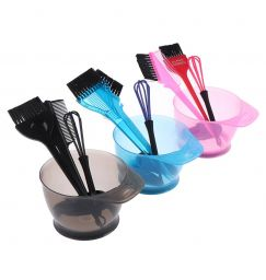1 Set Hair Dye Color Mixer Hairstyle Hairdressing Styling Accessorie Brush Bowl Set With Ear Caps Dye