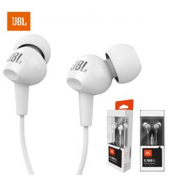 JBL C100Si Stereo Wired Headphones Deep Bass Music Sports 3.5mm Headset In-ear Earbuds With MIC