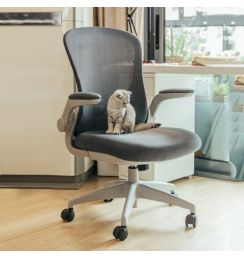 Ergonomic Office Chair Swivel Lifting Breathable Cushion Lacework Chair Armrest Adjustable Bedroom Chair Desk Computer Chair