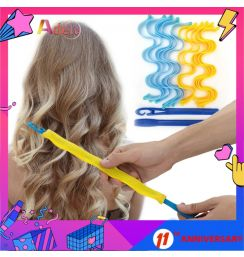 12PCS DIY Magic Hair Curler 30CM Portable Hairstyle Roller Sticks Durable Beauty Makeup Curling Hair Styling Tools