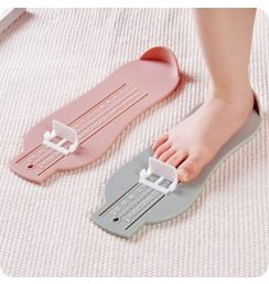 Baby Foot Ruler Kids Foot Length Measuring Child Shoes Calculator For Children Infant Shoes Fittings Gauge Tools