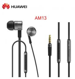 Original Brand Huawei Honorde AM13 Honor earphone with Micrphone in-ear Better Sound quality headset for Huawei Xiaomi