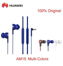 100% Original Huawei Honor AM15 Wried headset ABS Material with Microphone for Huawei Honor 9 Mate P10