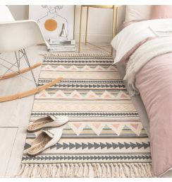 60x180cm Retro rugs and carpets for home living room Soft Tassel Home Carpets Table Runner Door Mat Home Decoration