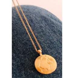 New coin women's necklace