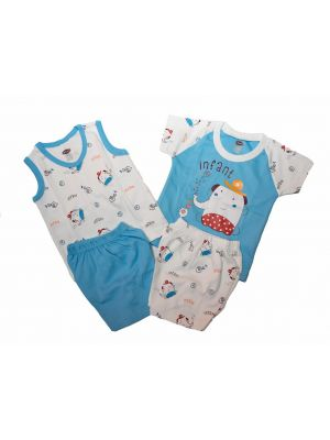 Baby's pajamas Set 2 pieces (6_12 )months