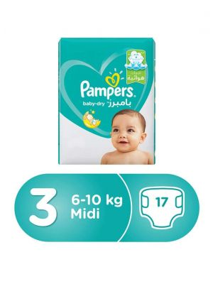 Pampers  size 3 * 17pes