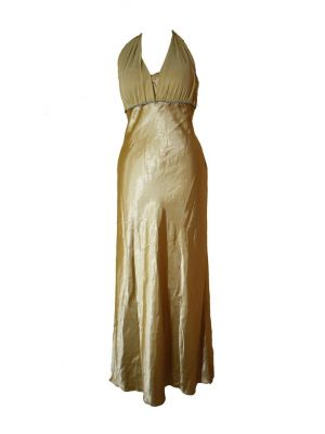 Golden Beige Party Dress