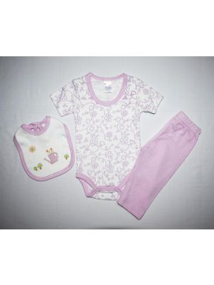 Baby 3 Pieces Set (3-6) Months