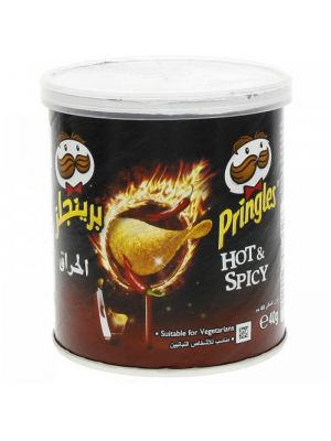 Pringles Chips Hot & Spicy, 40 g