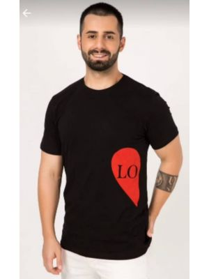 ZIFONI Black Men T Shirt - XL