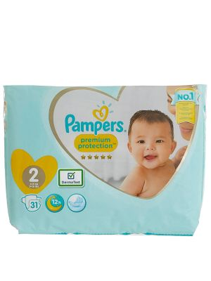 Pampers Diapers Saudi Size 2* 18 Pcs