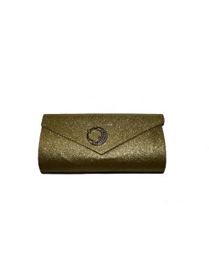 Gold Women Clutch