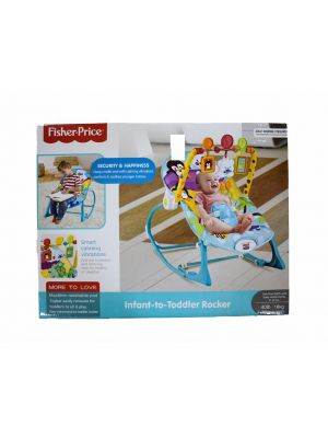 Multifunctional Lightweight Rocking Swing Chair Blue