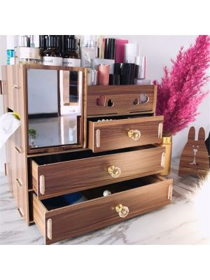 Hoomall Jewelry Container Wood Organizer-190701004