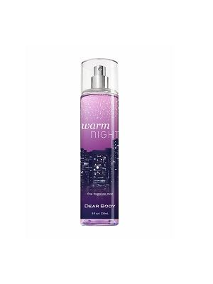 Dear Body Warm Night Body Mist