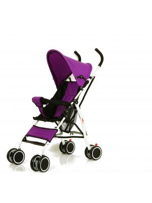 Baby Plus Baby Stroller Buggy with Sunshade Canopy BP7863-Purple, 7-36 Months