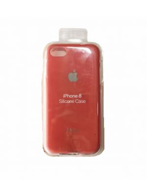 iPhone 8 Silicone Case - Red