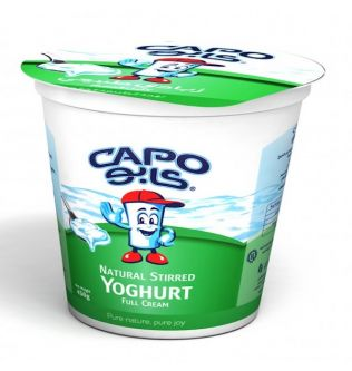Cabo natural full fat yogurt 400 gm