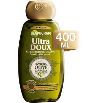 Garnier Ultra Doux Intense Nourishing Shampoo , Mythic Olive Virgin Oil , 400ml