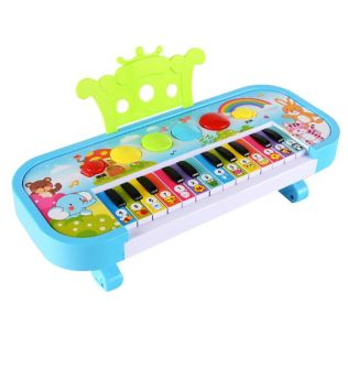 Infant Playing Educational Electronic Piano Baby Toys Children Keyboard Boys Girls Fingers Kids Music Gift(Ran Color)