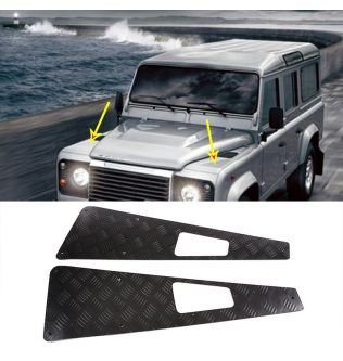 Car Exterior Defender 90 Accessories Hood Protection panel Stickers For Land Rover Defender 110 130 2004-2018 Auto Accessories