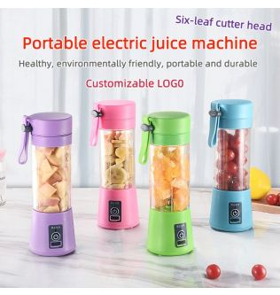 Portable Mixer USB Electric Fruit Juicer Handheld Smoothie Maker Blender Stirring Rechargeable Mini Food Processor Juice Cup