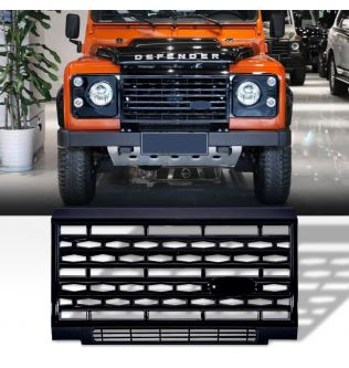 Auto Parts Car Styling Tuing Front Middle ABS Adventure Edition Style Grille For Land Rover Defender Vehicle