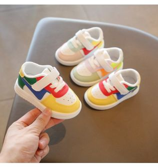 Baby Toddler Shoes Children Sports Shoes For Boy Girl Baby Leather Flats Kids Sneakers Fashion Non-slip Casual Infant Soft Shoes