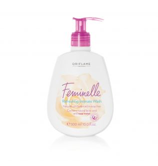 Refreshing Intimate Wash with rose water
