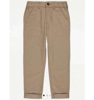 George Khaki Trousers for Kids Size 10-11, 11-12 Years