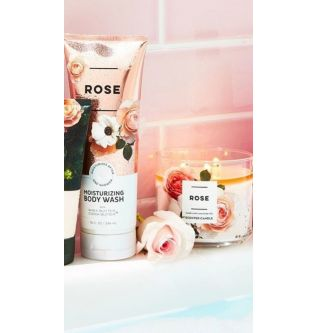 Bath&Body Works - ROSE MOISTURIZING BODY WASH