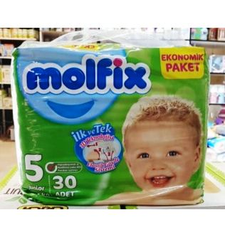 Molfix Baby Diapers size 5 - 30 pieces