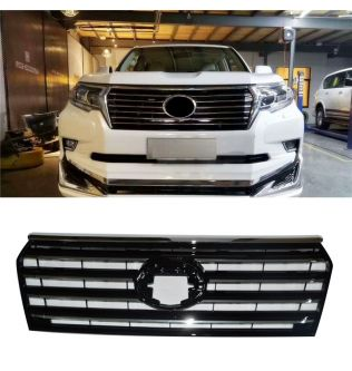 high quality front racing grille grills abs mask bumper abs cover fit for Land cruiser Prado Fj200 LC200 grill auto accessoires