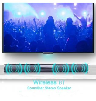 20W Portable Wireless Column Soundbar Bluetooth Speaker Powerful 3D Music Sound bar Home Theater Aux 3.5mm TF  For TV PC
