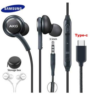 Samsung Earphones EO IG955 AKG Headset In-ear 3.5mm/Type c with Mic Wired for Galaxy S20 note10 S10 S10+ S9 S8 S8+ S7 S6 huawei