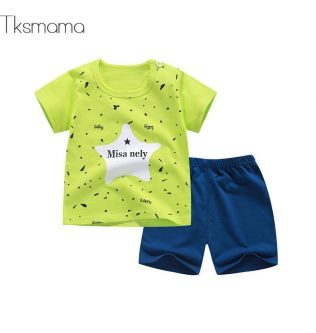 Summer New Design For New Born Baby Clothing Sets Baby Boy Handsome Outfits Baby Girl Clothing Sets