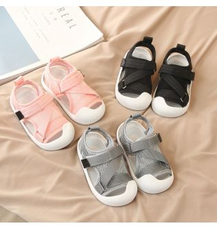 Summer Infant Toddler Shoes Baby Girls Boys Casual Shoes Non-Slip Breathable High Quality Kids Anti-collision Beach Shoes