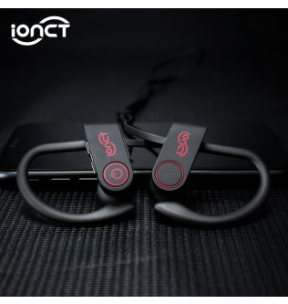 iONCT IPX7 Waterproof 5.0 Bluetooth earphone Noise Cancelling HiFi Stereo wireless earphones headphone Sports Earbuds for phone