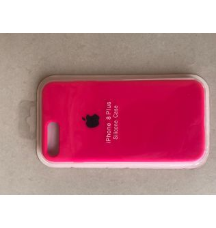 iPhone 7/8 Plus Silicon Case Pink