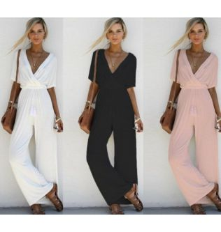 Cotton Maternity Clothes V-Neck Pant Trousers 2020 Loose Pregnant Women Rompers Overalls Jumpsuits Pregnancy Clothings Plus Size