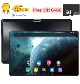 64GB TF Card Octa Core Tab S119 2.5D Tempered Glass Screen 10.1 inch  3G 4G FDD LTE Tablet 3GB RAM Android 7.0 tablets