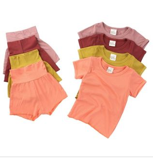 Baby Clothing Boy Girl Sleepwear Kids Pajams Set Children Soft High Waist Pyjamas Pijamas Cotton Nightwear Clothes Kid Clothing