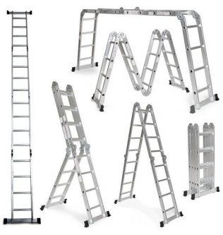 multi purpose aluminium ladder