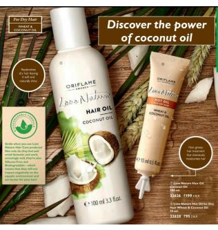 Love Nature Hair Oil Coconut Oil