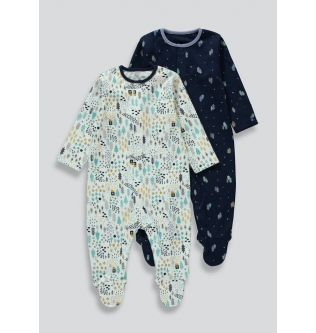 Sleepsuite set of 2 from Matalan