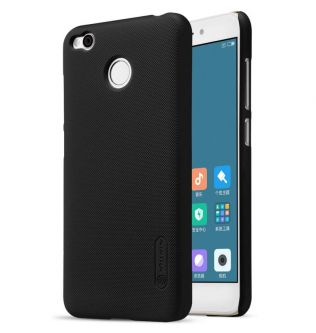 XIAOMI RedMi 4X Nillkin Super Frosted Shield Back Case Cover (Black) - 200101016
