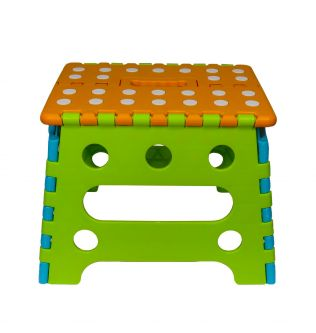 Kids Child Toddler Folding Step Stool Plastic Foldable Chair Footstool Handle - 200301033