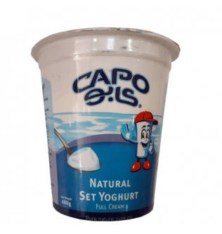 Capo Yoghurt full fat 400 g