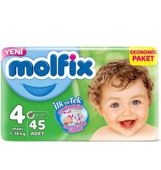 Molfix Baby Diapers size 4 - 40 pieces